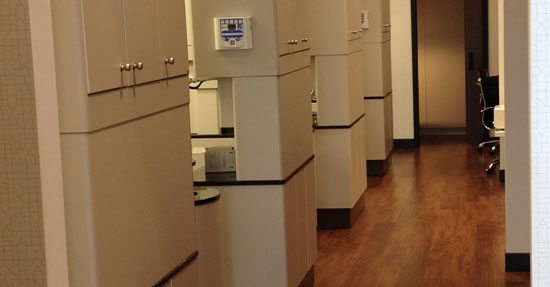 Our modern treatment rooms