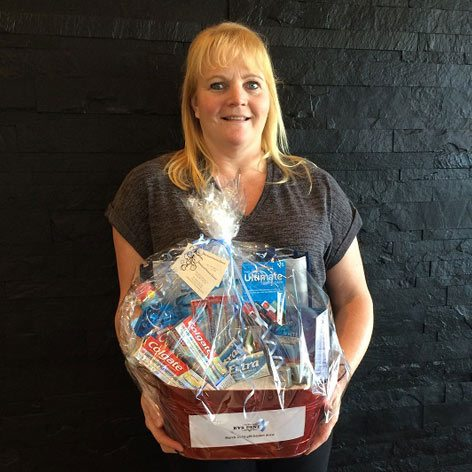 March Gift Basket Winner